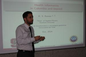 Kevin Raines, estudiante de doctorado en Física Aplicada en la Universidad de Stanford