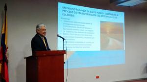 doctor Eduardo Guerrero Espinel, docente Facultad Nacional de Salud Pública, Universidad de Antioquia